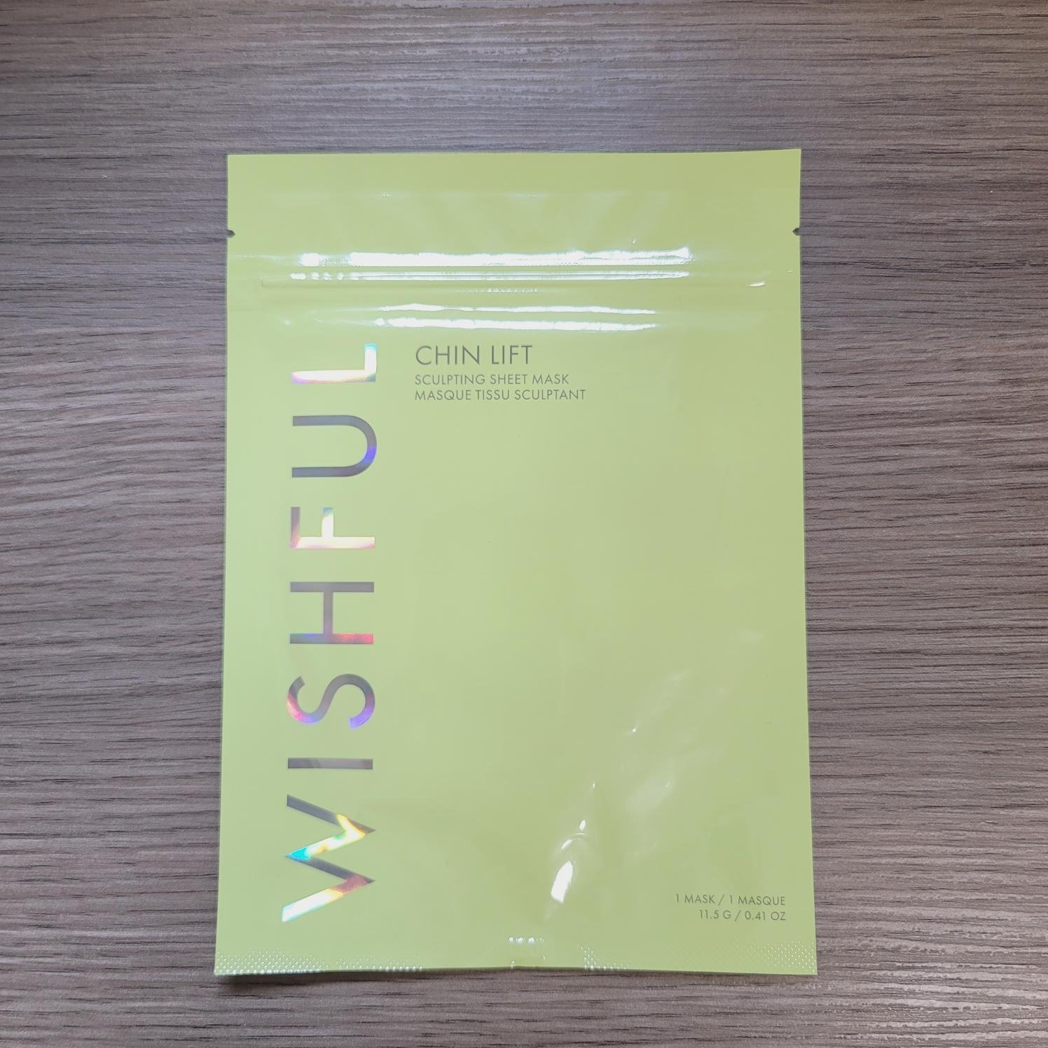 現貨🌸全新WISHFUL 提拉面膜  下巴提拉面膜 Chin Lift Sculpting Sheet Mask( 11.5g )
