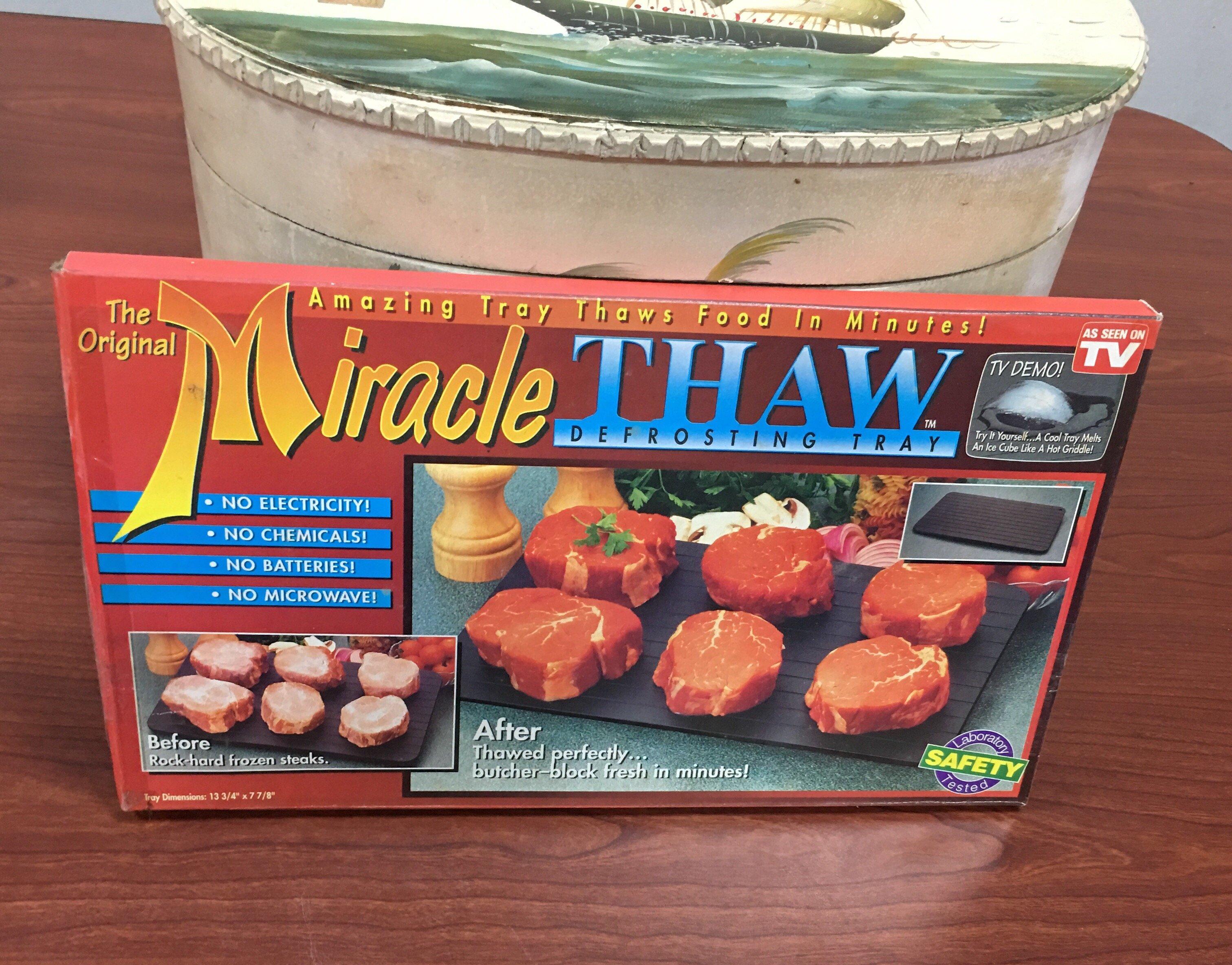 【全國二手傢俱】*新品*Mircale THAW 解凍盤/解凍板/化冰化凍肉/餐飲設備/廚房設備/二手家電/廚房用品