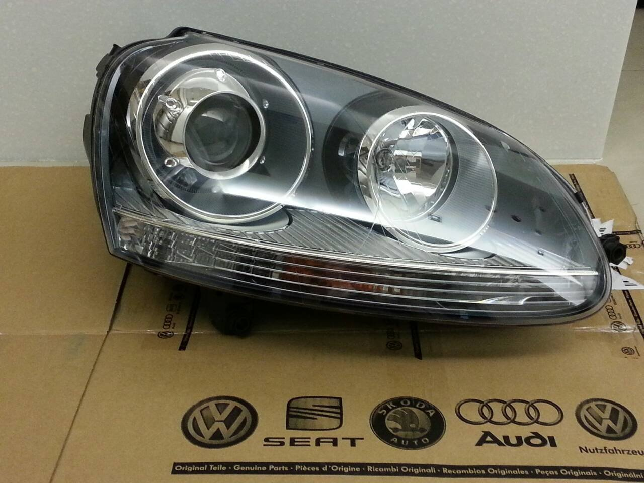 VW GOLF R32 GTI 5代 原廠代工~HID大燈/單顆~歐洲產