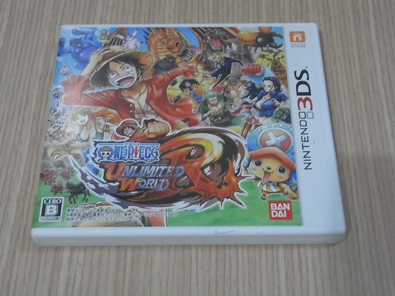 【小蕙館】<3DS> 航海王 無限世界 (純日版)