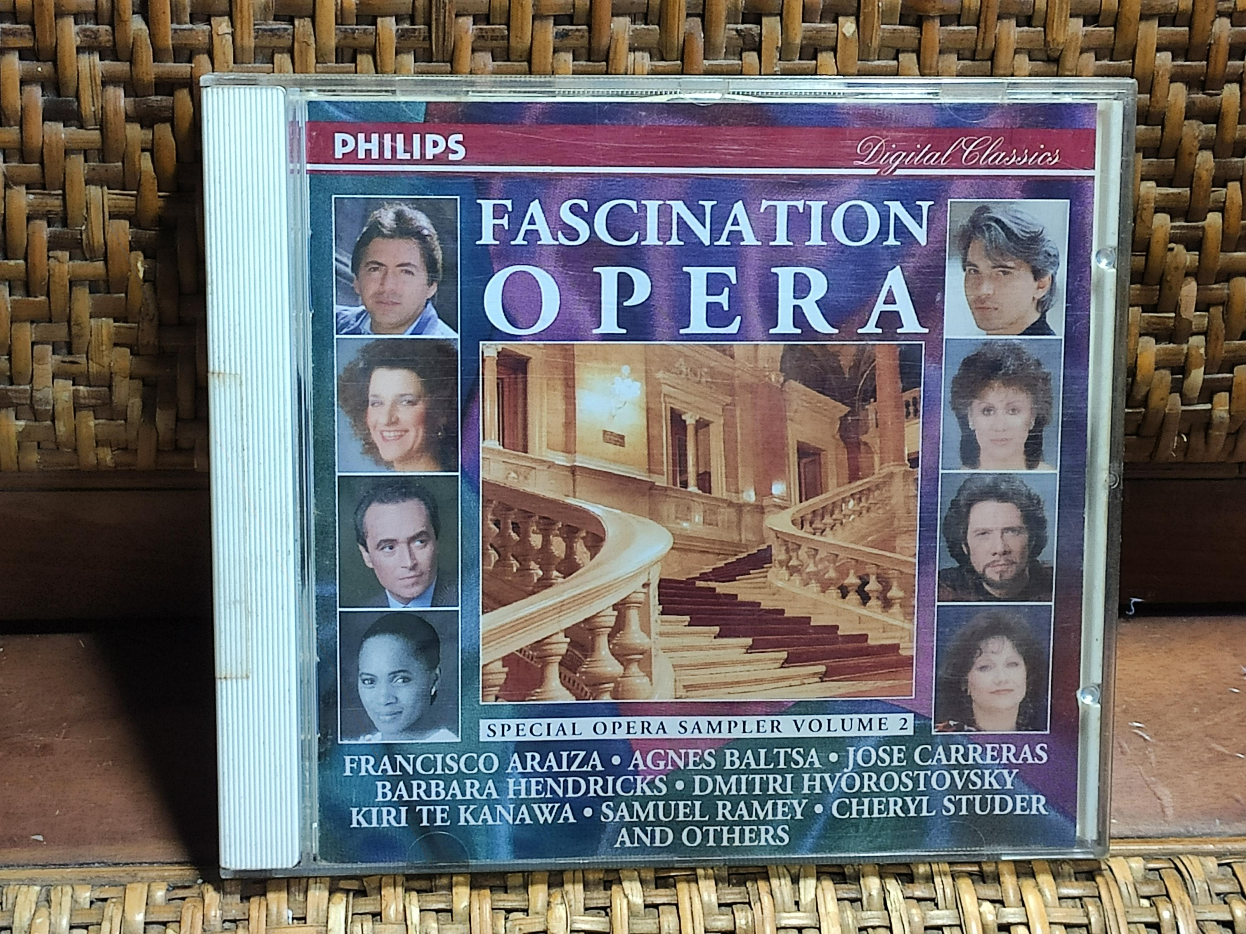FASCINATION OPERA SPECIAL OPERA SAMPLER VOLUME 2 德國版