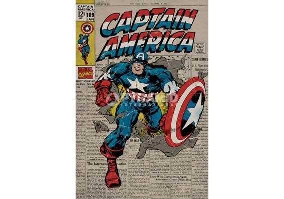 海報 英國 海報 PP32557(美國隊長-漫畫篇)