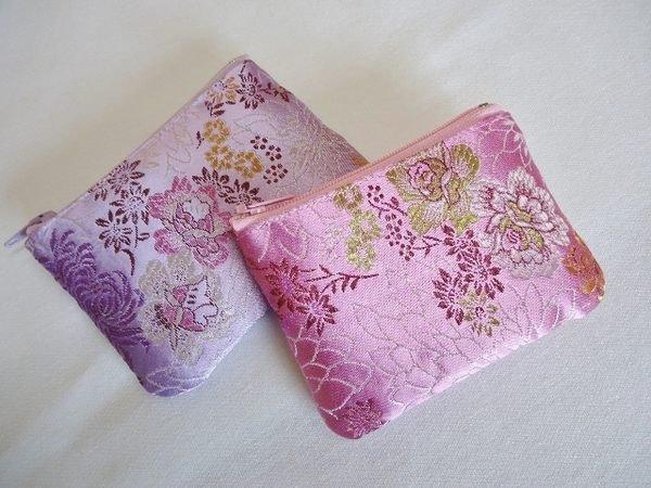 巧巧屋藝品工作室※貼身錢包系列~福氣圓滿小錢包  多款綢緞布料可選