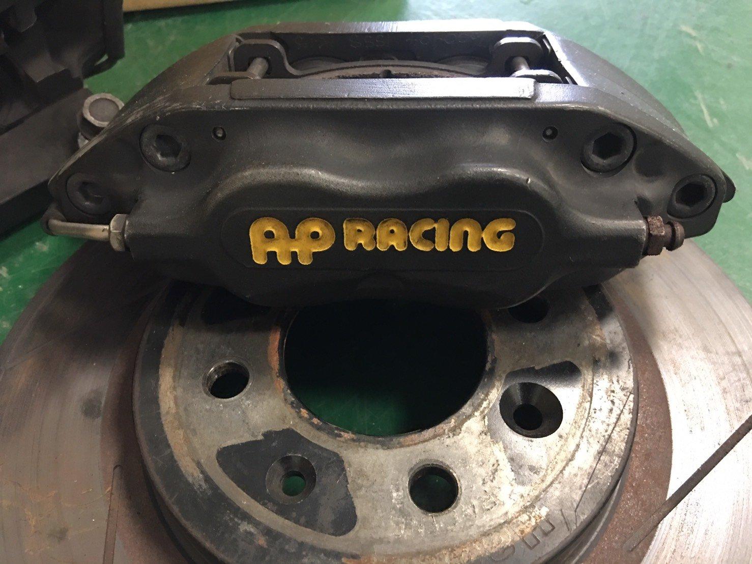 AP四活塞卡鉗[HONDA-K6/K8專用AP-CP-7600四活塞卡鉗套件(劃線282mm碟盤)]二手卡鉗、中古卡鉗