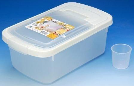 ~喜孜~【K2002 米桶5KG《附量杯》】 ~飼料桶 乾糧桶 掀蓋式收納