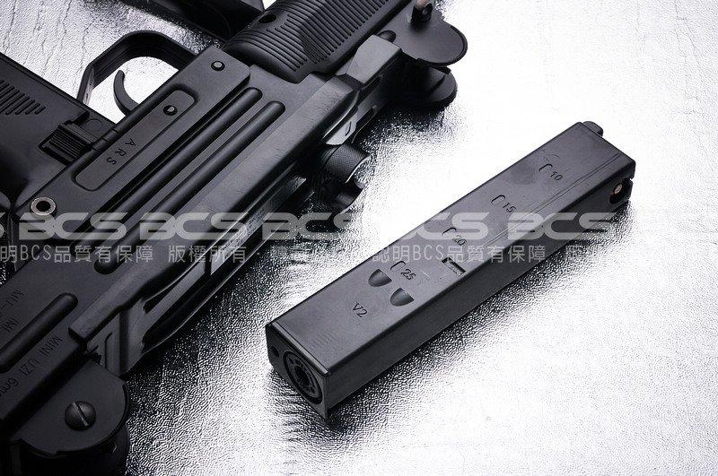 【BCS武器空間】KWC UZI 烏茲衝鋒槍 4.5mm CO2彈匣,彈夾-KWCXCM07