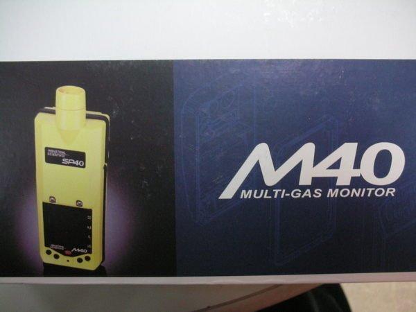 ☆捷成儀器☆美國ISC M40 四用氣體偵測器  可探測 硫化氫  氧氣  一氧化碳  可燃性氣體