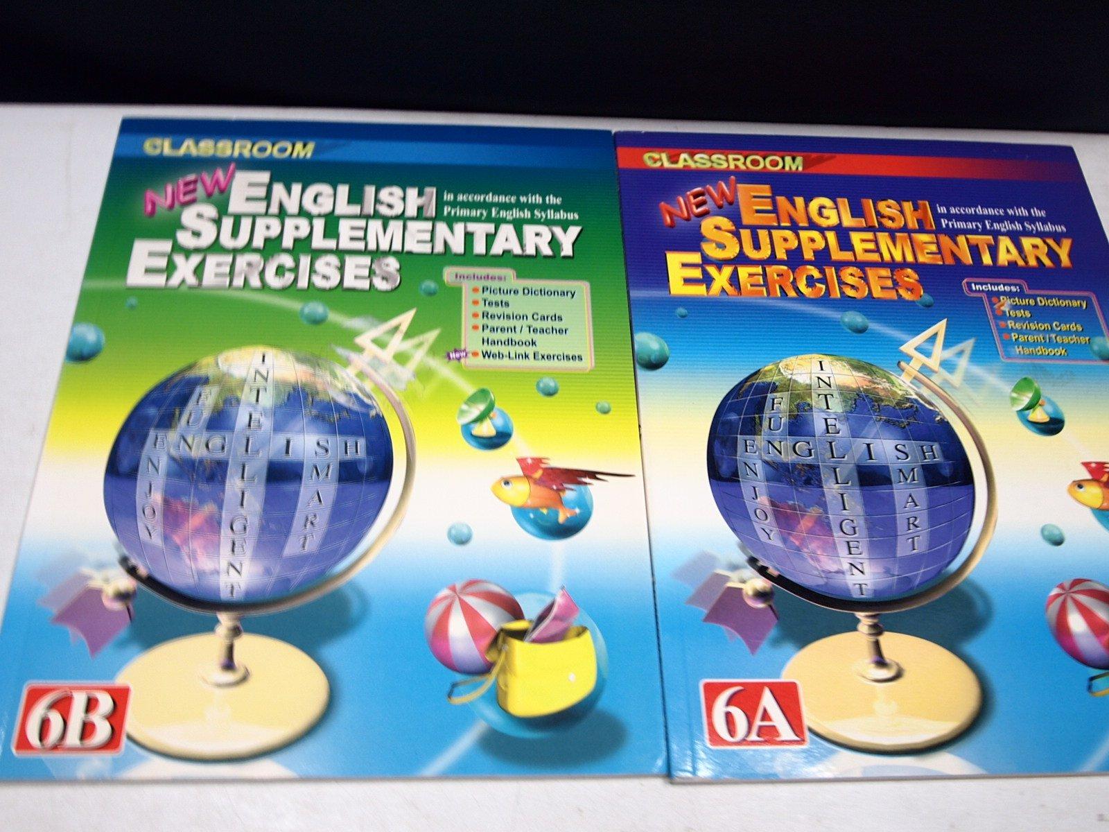 【考試院二手書】《NEW ENGLISH SUPPLEMENTARY EXERCISES 6A+6B 》│ 七成新