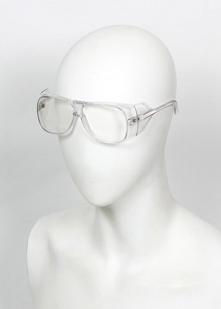 【元山行】電焊皮手套 電焊手套 氬焊手套 防護面罩 護目鏡 護具 :011 白平光 白青 黑平光 黑青(玻璃鏡片)