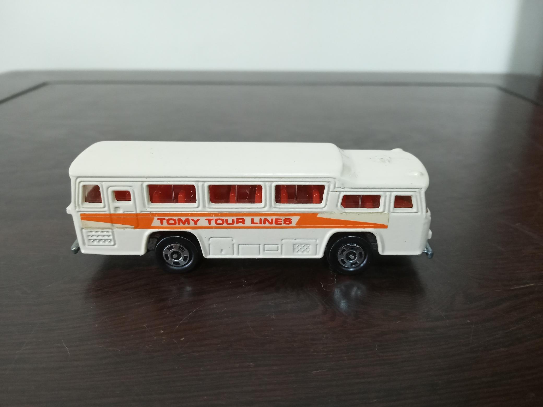(多美小車) Tomica NO.41  Fuji Semi-Decker Type Bus (A387)
