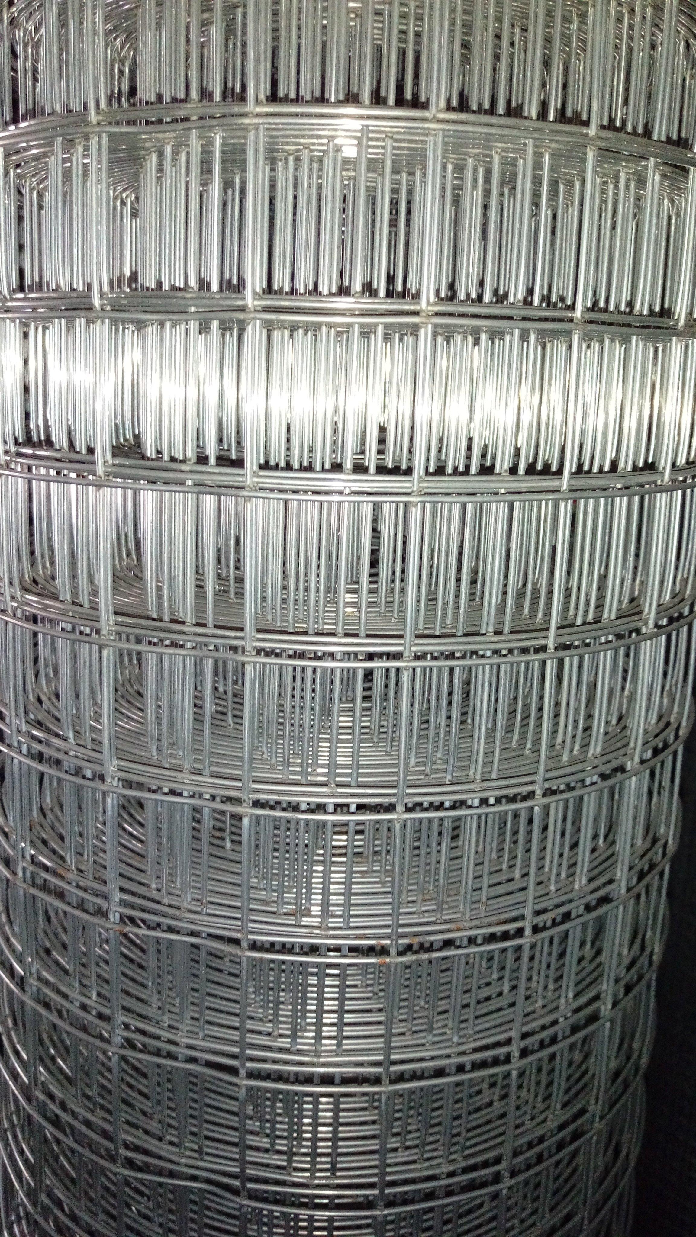 點焊鋼絲網 點焊網 10# 孔徑4  5尺寬 全長50尺 4英吋孔 鍍鋅網 鐵網  圍籬_粗俗俗五金大賣場