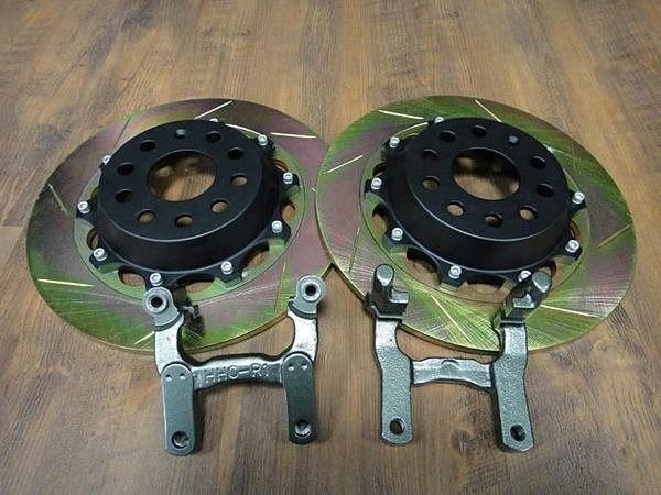 HHC BRAKES VW Tiguan 專用 雙片 後加大碟盤 350mm