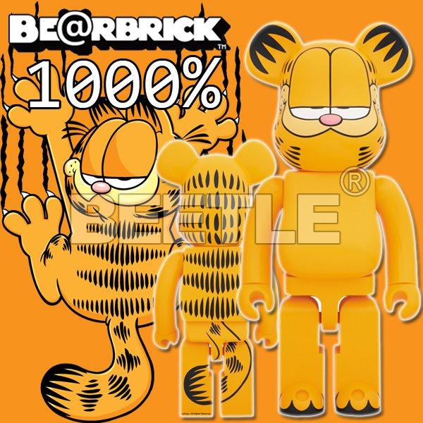 BEETLE BE@RBRICK 加菲貓 GARFIELD 庫柏力克熊 BEARBRICK 1000%