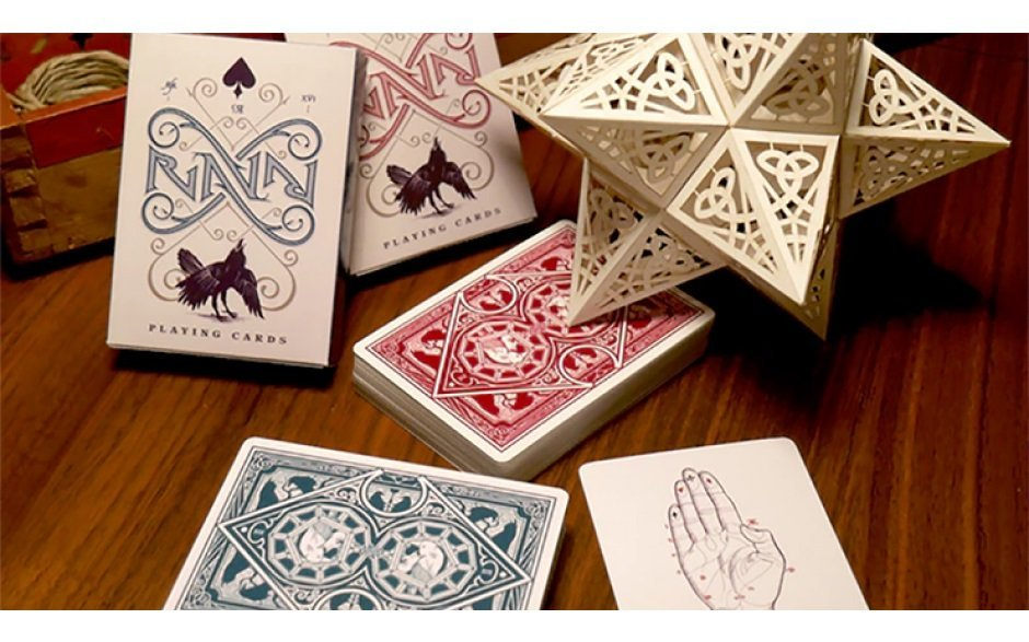 【USPCC撲克】Ravn playing Cards 綠 S102794