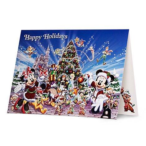 迪士尼樂園聖誕卡片米奇米妮唐老鴨小木偶小飛象阿拉丁玩具總動員胡迪巴斯光年史迪奇duffy冰雪奇緣艾莎安娜雪寶 非明信片