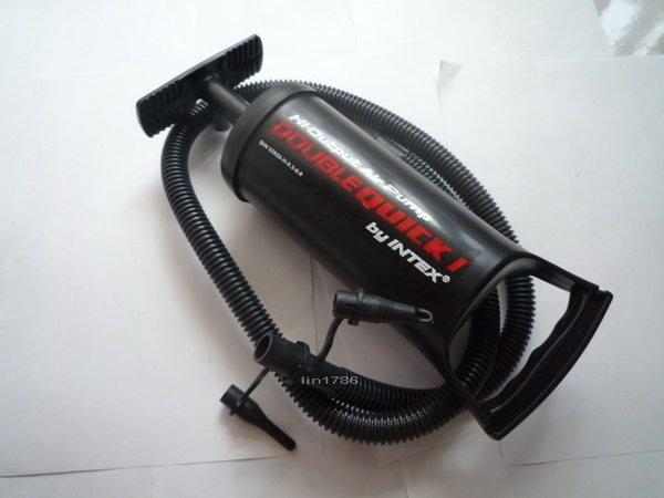 INTEX68612 手壓打氣筒 充氣床 游泳圈 沙灘球 充氣游泳池 浮排 充氣船 都很好充 降價