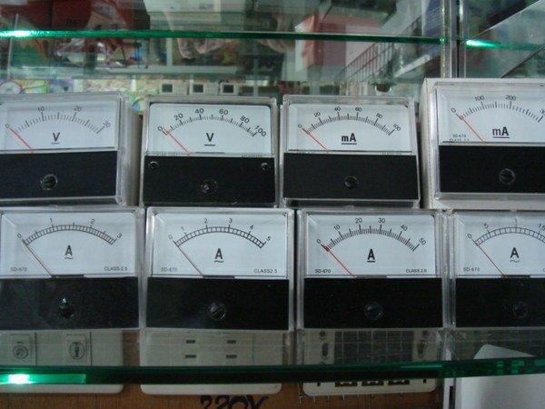 電流表 . 伏特 .電壓表....定做各式電表