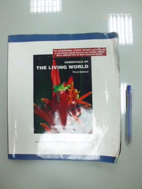 6980銤:B2-4de☆2008年出版『Essentials of The Living World 3/e』