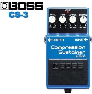 【搖滾通樂器館】BOSS CS-3 Compression Sustainer 電吉他效果器  公司貨 歡迎洽詢