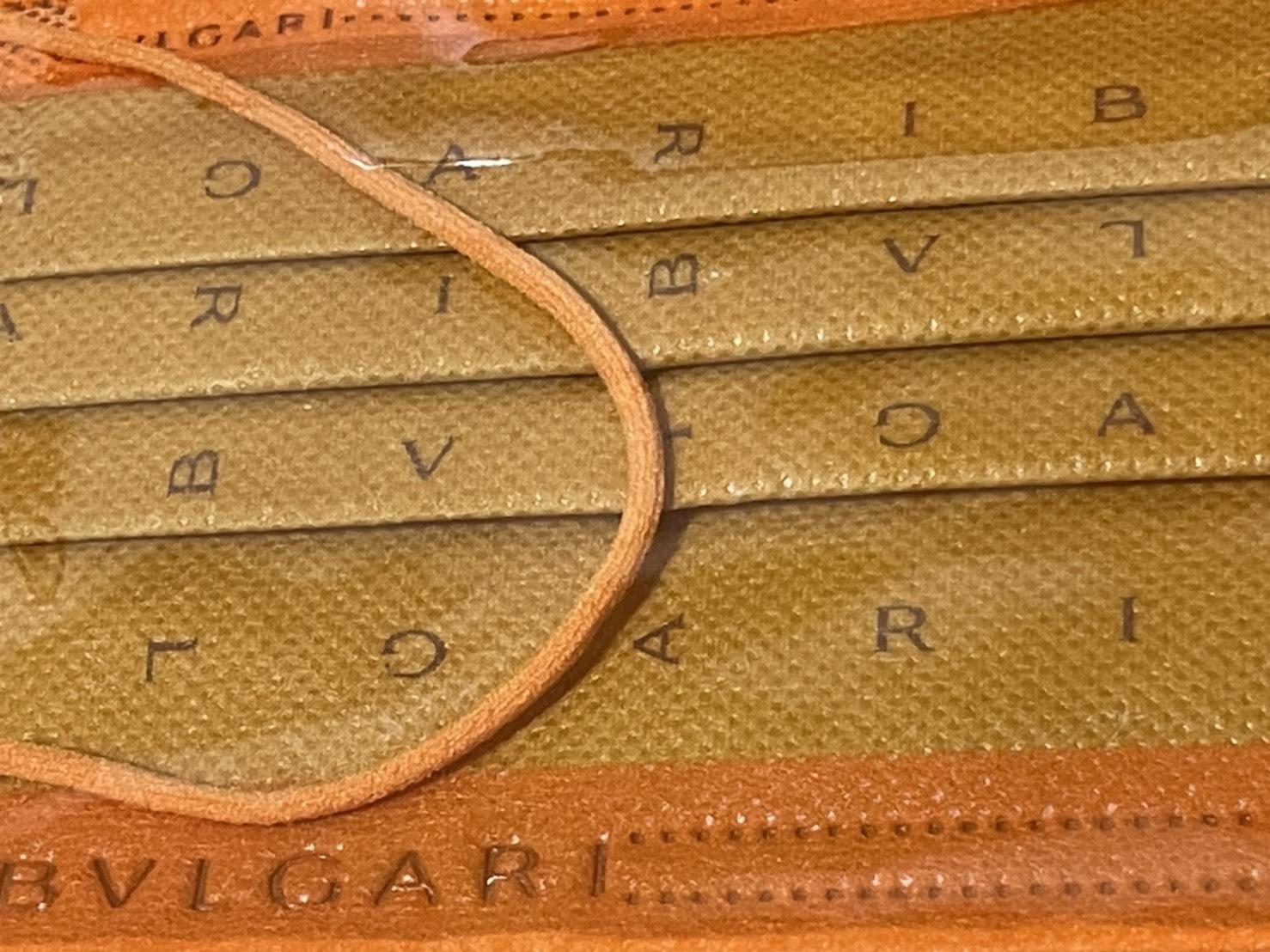寶格麗 第一代中衛聯名口罩 橘色款