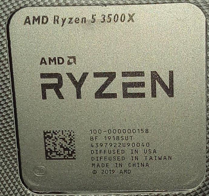 AMD Ryzen 5 3500X r5 3500X(現貨)