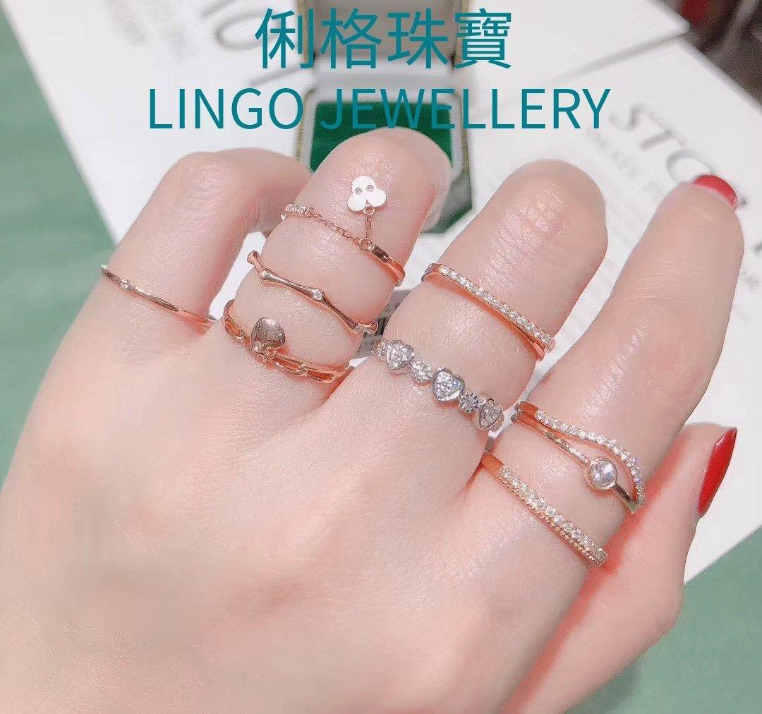 18K金鑽石戒指 價格:洽詢   18k Gold Diamond Ring Price:PM
