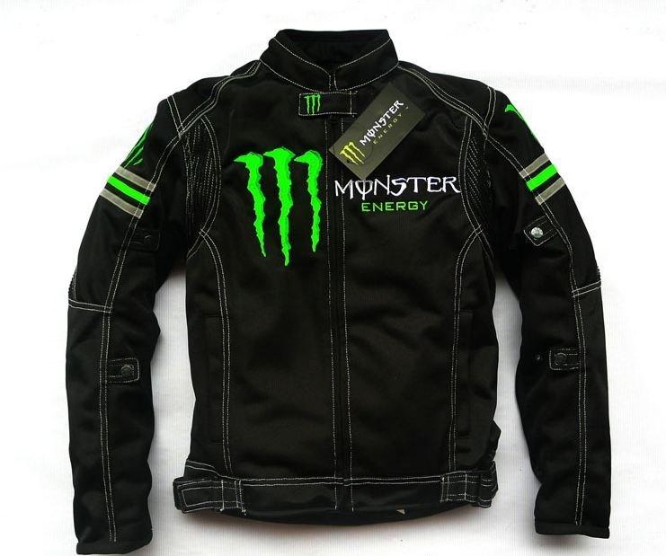 MONSTER 鬼爪 春夏秋冬季 + 可拆式內裡 摩托機車重機賽車騎士防摔衣服外套夾克 新款