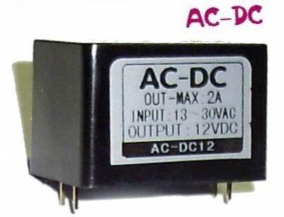 AC-DC 電壓轉換 低壓交流30V以內 轉直流模組 5V 6V 9V 12V.. Max 2A