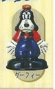 ☆星息xSS☆YUJIN 迪士尼 復古仿鐵皮 收藏 彩色黑白版 轉蛋 扭蛋 單售:彩色高飛 GT12