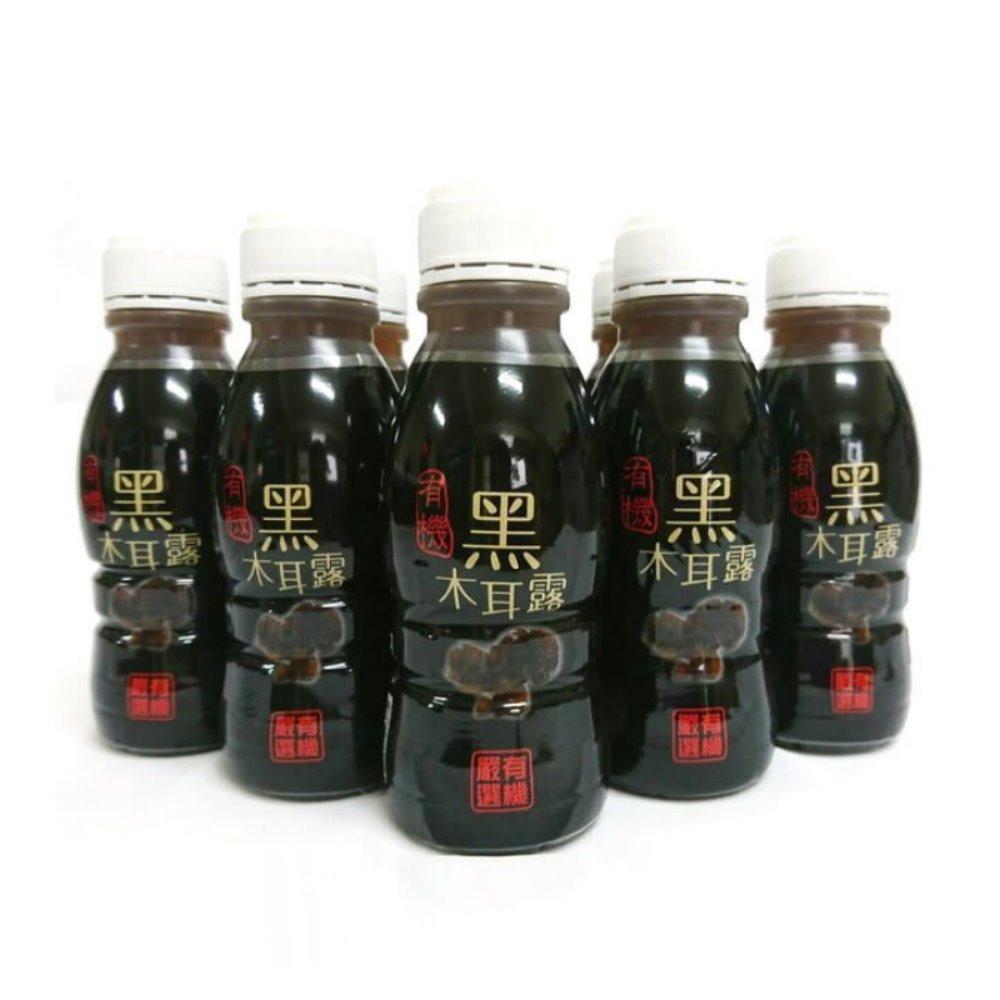 代購~(48瓶1589含運)綠太陽 有機黑木耳露350ml(24瓶/箱)x2~豐富膳食纖維.台灣有機認證.另有有機雪晶耳