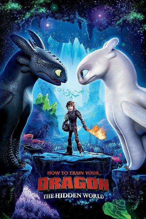 英國 海報 PP34451( 馴龍高手3 How To Train Your Dragon)