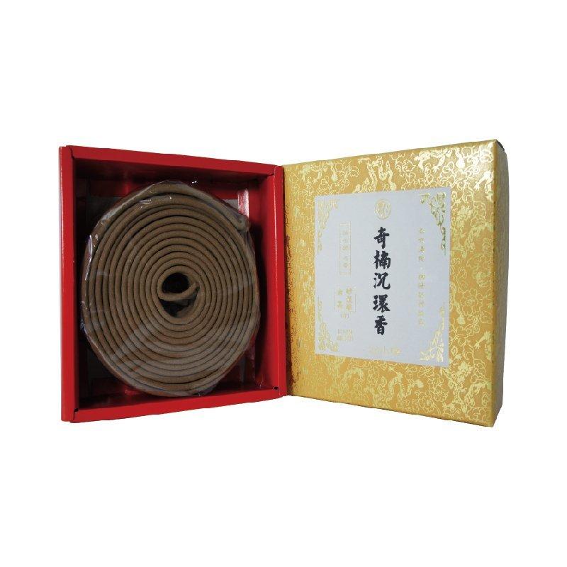 妙蓮華 精品 24小時奇楠沉環香(103) 10片/盒