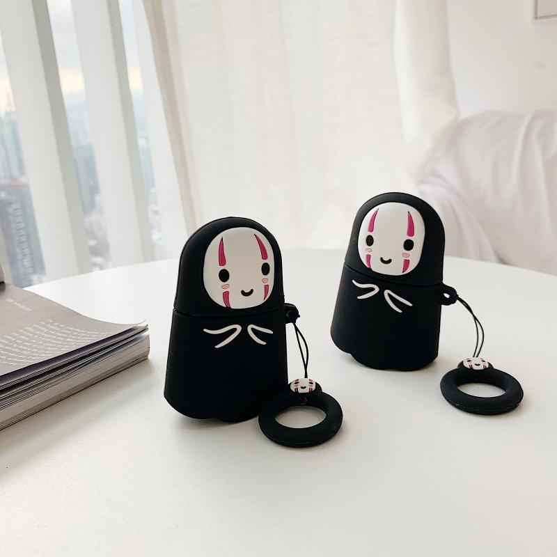 小花 店-可愛無臉男Airpods保護套硅膠蘋果2代耳機套 可愛充電倉盒子套
