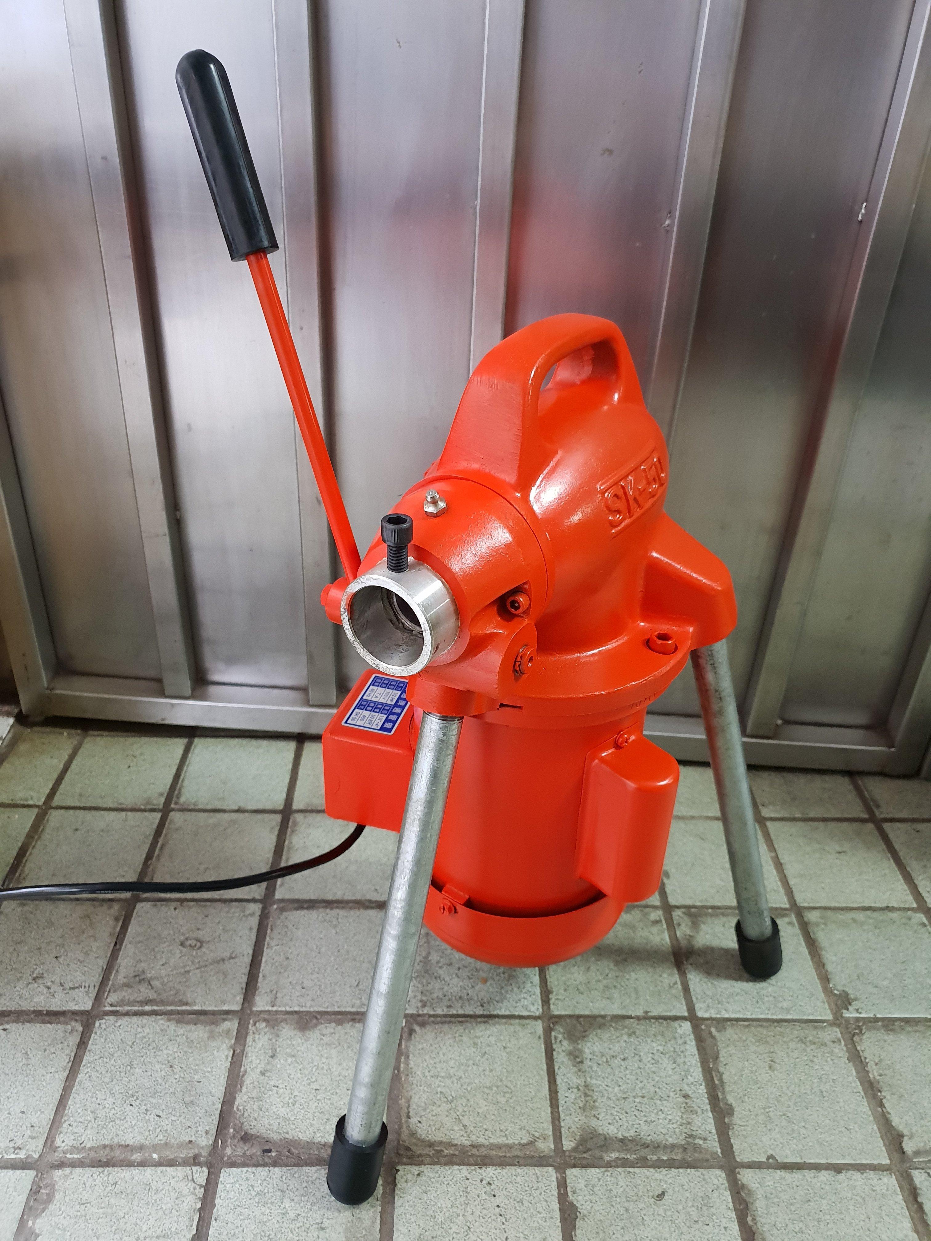 ╭☆優質五金☆╮台通牌電動通管機附通管套件大全套全配居家水管廚房阻塞可通~比川方耐超