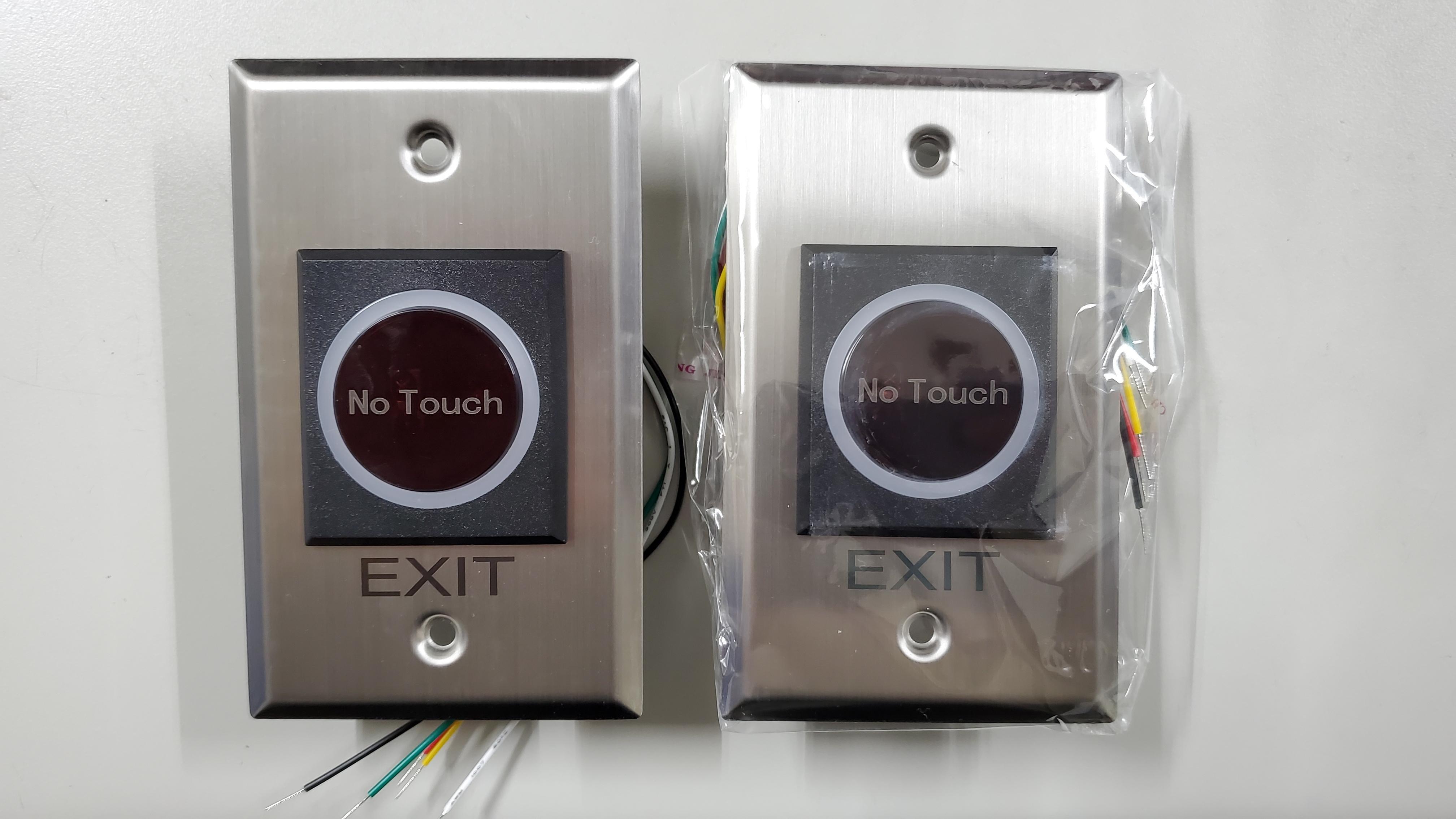 (現貨未稅含稅另賣場)門禁 紅外線開關 感應出門開關 免接觸開關按鈕 非接觸式門禁用 No Touch