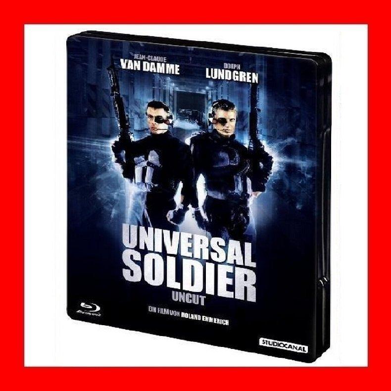【BD藍光】魔鬼命令: 鐵盒版Universal Soldier-極度冒險尚克勞德范達美 星際終結者明天過後導演