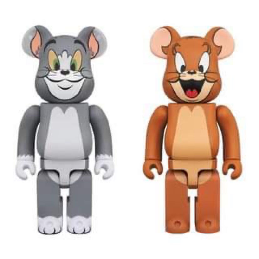 現貨 Bearbrick 1000% MEDICOM BE@RBRICK 1000% 湯姆貓 傑利鼠 一套 Tom and Jerry 湯姆貓與傑利鼠
