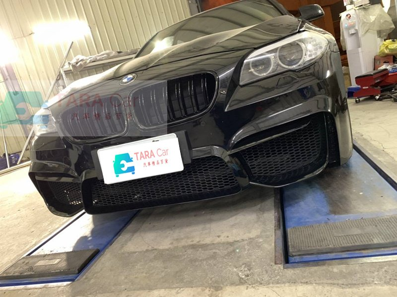 BMW F10 改 跨界5套件 PP材質 前保桿 前大包 含 水箱罩 葉子板 側裙 後保桿 M5款尾翼