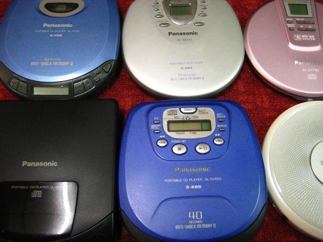 【完美作品】本賣場的 SONY、Panasonic CD隨身聽都有保固,保證『最高品質』