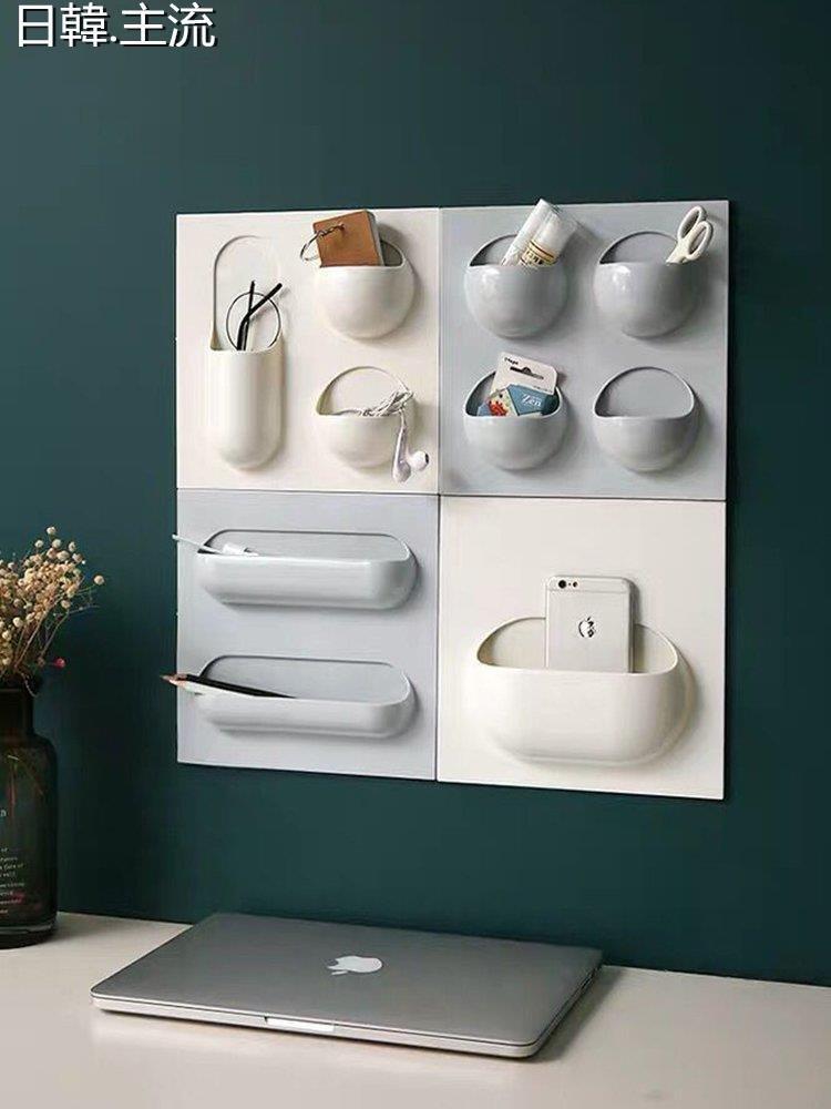 收納 浴室收納浴室置物架廁所洗手間洗漱臺收納架吸盤式免打孔壁掛架吸壁式廁所
