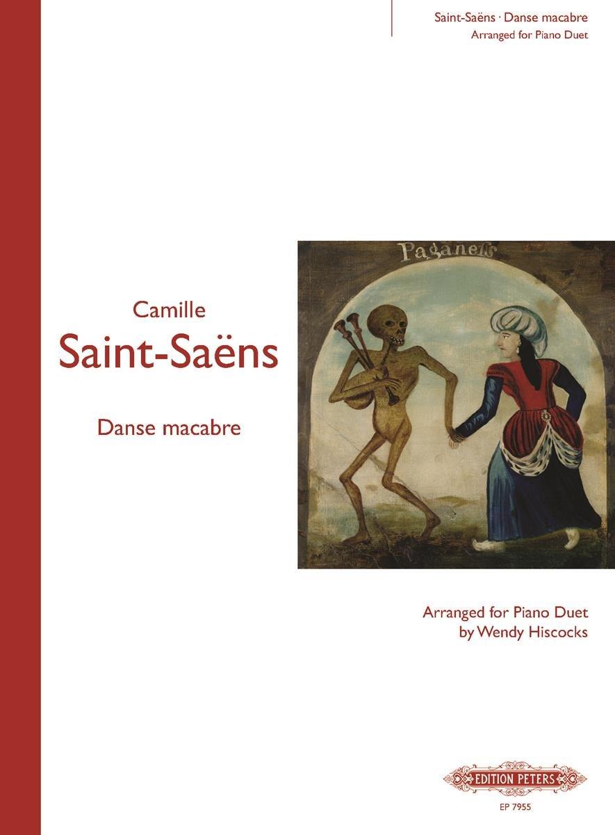 【599免運費】Saint-Saëns Danse Macabre Arr. for Piano Duet【EP7955