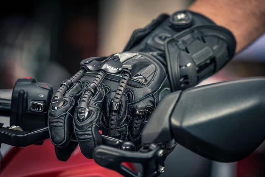 瀧澤部品 英國 KNOX Handroid Gloves 黑 防摔手套 機械手套 旋鈕設計 競技賽車 通勤 機車重機