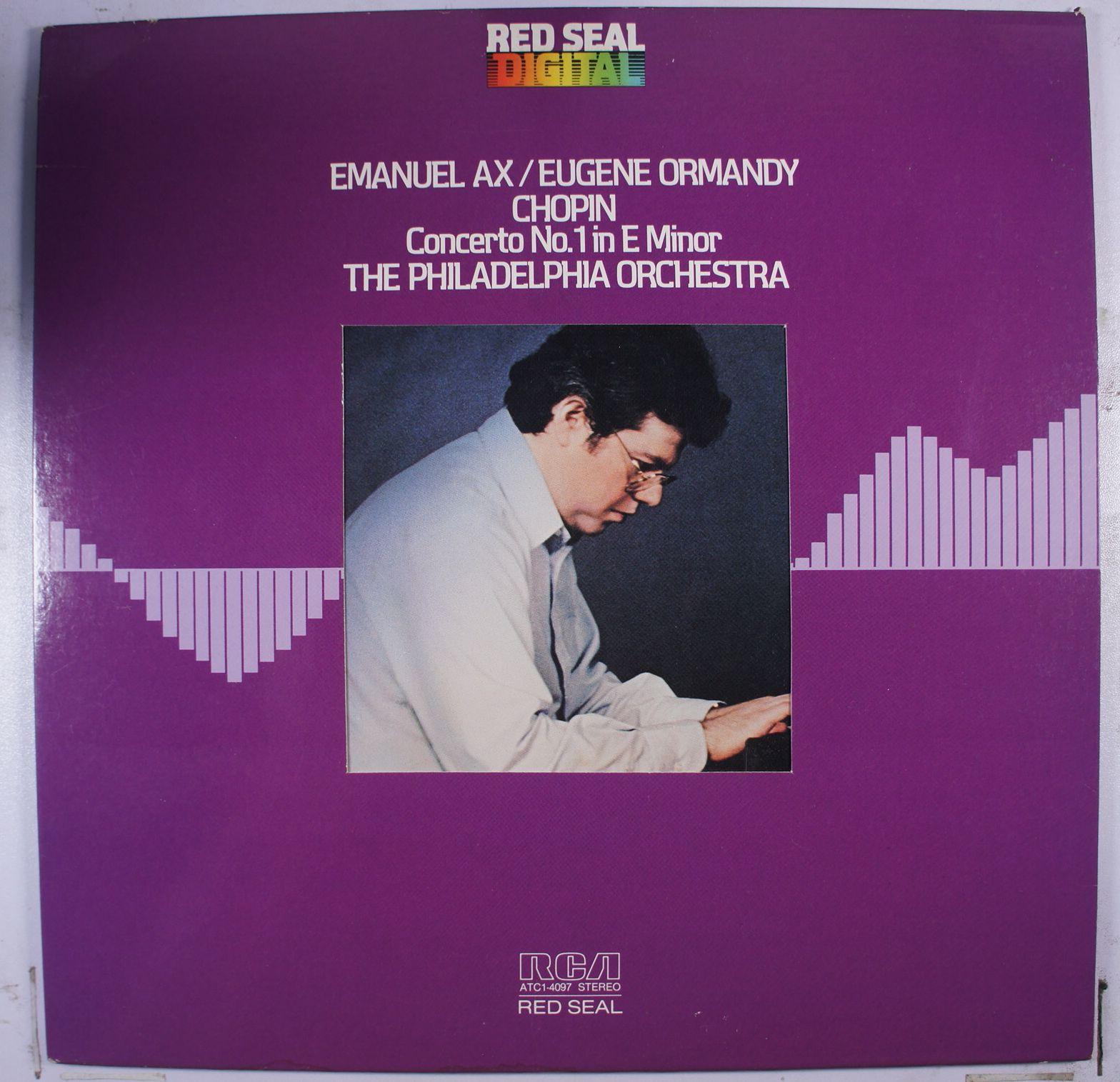 《二手美版黑膠》Chopin - Concerto No. 1 in E Minor Emanuel Ax