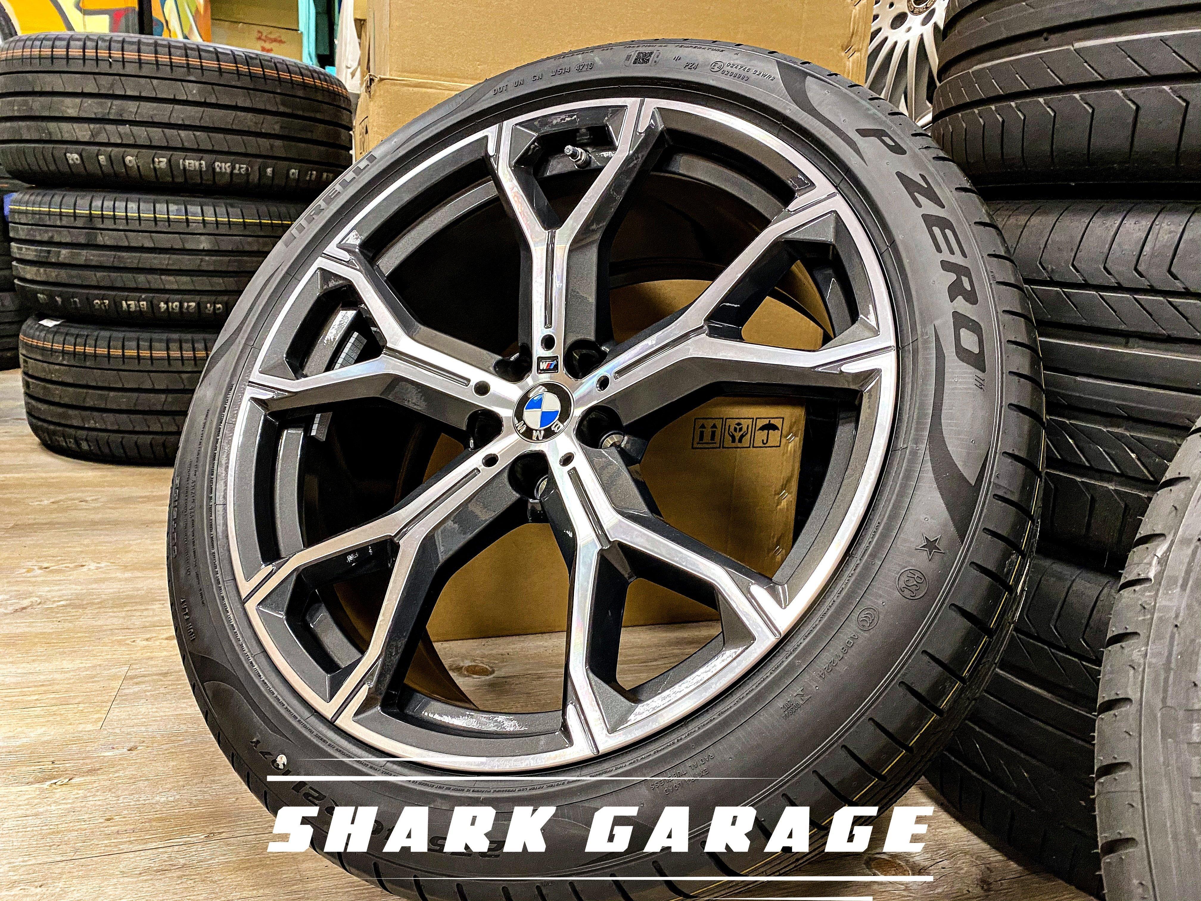 #現貨#✽顯閣商行✽BMW 德國原廠 M Performance G05 X5 741M 21吋 輕量化鋁圈配胎