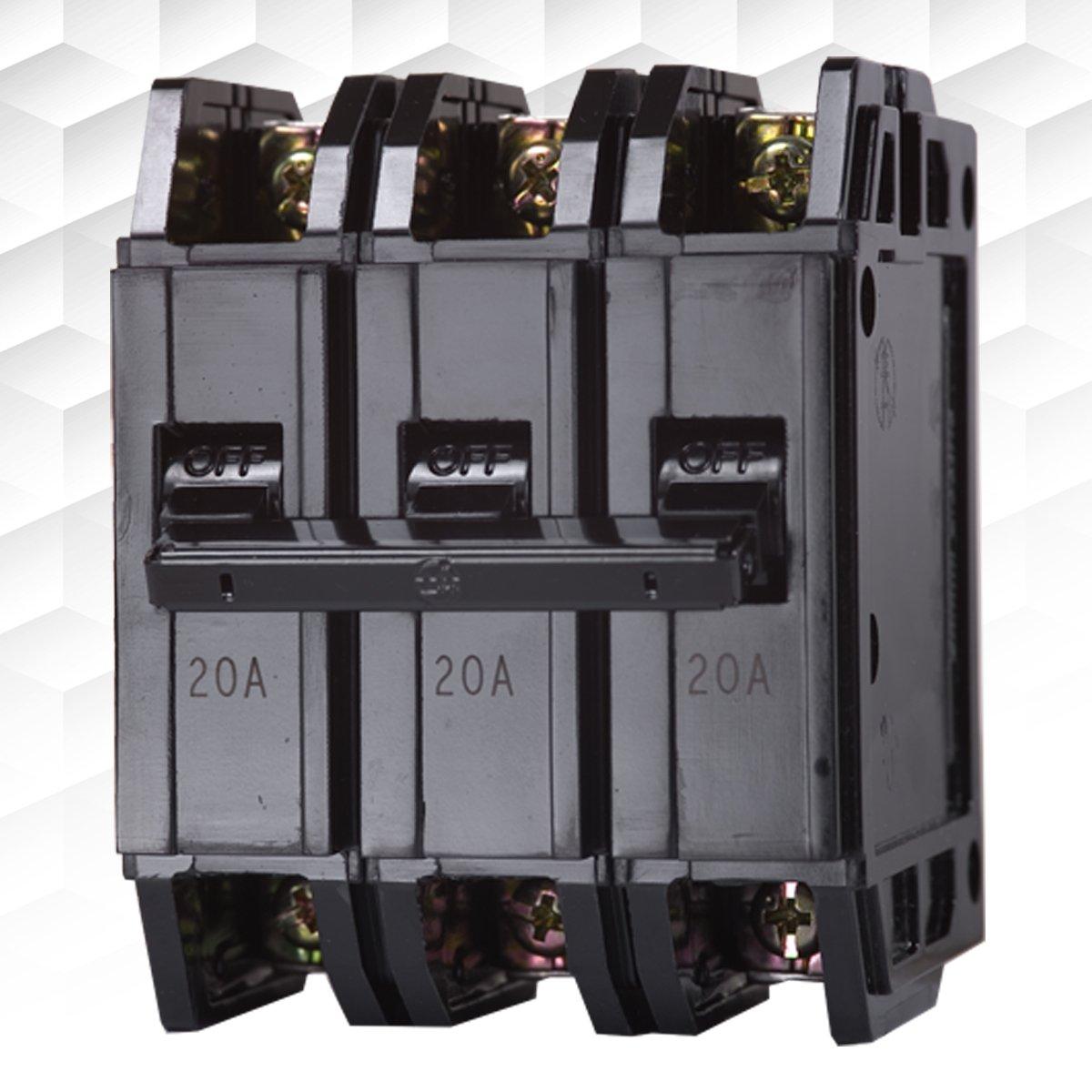 【士林電機】無熔線斷路器 BH 3P 60A 75A 100A (220V~5KA) 無熔絲開關