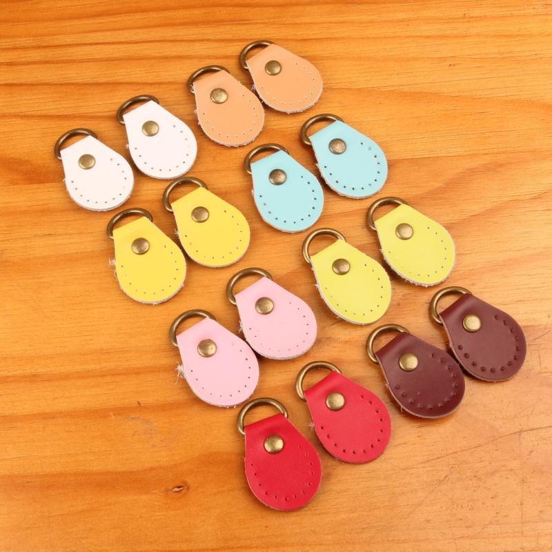 鑰鑰 布藝DIY包包輔料斜背包手提包牛皮圓形耳朵掛扣4元一對diy 製作 材料包 初學套件