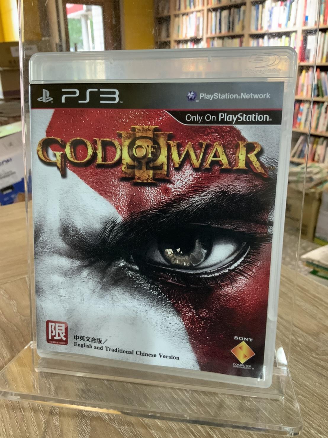 T5-11《 好書321》PS3正版遊戲片God of War III 中英文合版(Best版)/其他