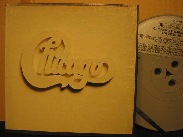 《7吋美版盤帶Reel Tape》搖滾長青樂團*芝加哥(Chicago) --Vol. 3&4*雙盤量in One*起標價即結標價