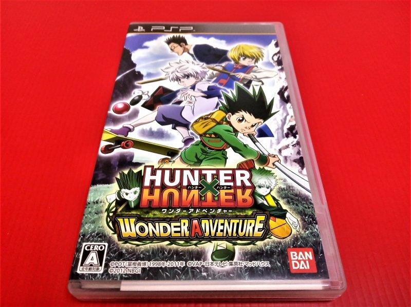 ㊣大和魂電玩㊣ PSP HUNTER x HUNTER 獵人{日版}編號:N3-5---掌上型懷舊遊戲