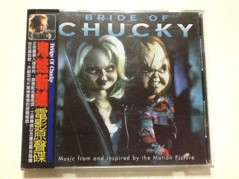 ~拉奇音樂~鬼娃新娘[ Bride Of Chucky ]電影原聲碟  二手保存良好 有側標。1。